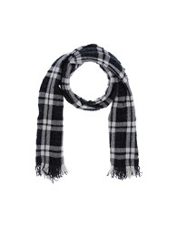 Mattabisch Oblong Scarves Steel Grey