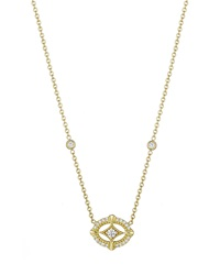 Penny Preville Diamond Oval Pendant Necklace