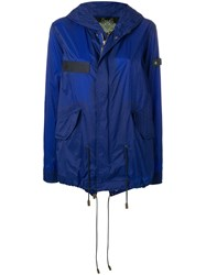 Mr And Mrs Italy Waterproof Mini Parka Blue
