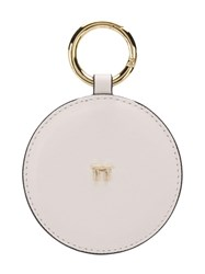 Tila March Round Handbag Mirror White