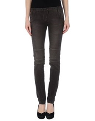 Get Lost Casual Pants Dark Brown