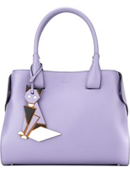 Tod's 'Cape' Tote Pink And Purple