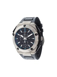 Iwc 'Ingenieur' Analog Watch Black