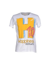 Happiness T Shirts White