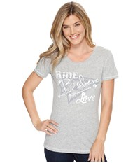 Ariat Believe Top Heather Gray Women's Clothing