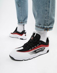 Dc Shoes Legacy 98 Slim Trainer In Black And Red