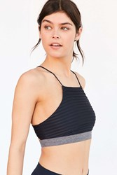 Without Walls Addilyn High Neck Bra Grey