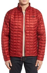 The North Face Men's Primaloft Thermoball Tm Full Zip Jacket Cardinal Red