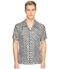 Marc Jacobs Distressed Check Shirt Check Men's Clothing Multi