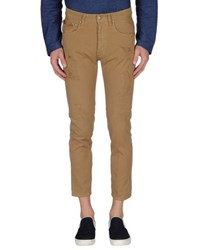 People Denim Denim Trousers Men Camel