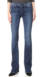 Hudson Love Mid Rise Boot Cut Jeans Moonshine