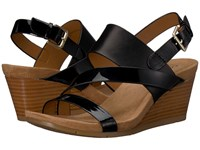 Comfortiva Vail Black Wedge Shoes