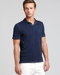 John Varvatos Usa Peace Polo Slim Fit Cobalt Blue