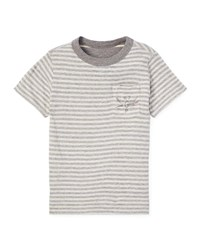 Ralph Lauren Striped Reversible Short Sleeve Tee Multi