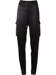 Balmain Track Trousers Black