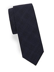 Theory Roadster Textured Woolen Tie Royal