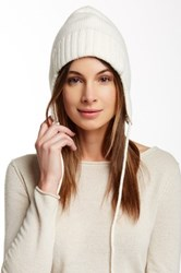 J.Crew Factory Trapper Wool Blend Hat White