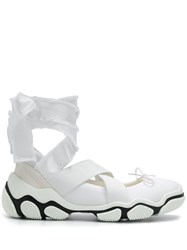 Red Valentino Ballet Sneakers White