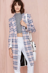 Nasty Gal Asilio Over The Love Coat