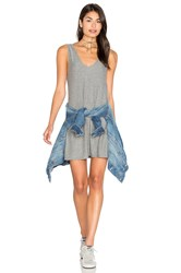 Candc California Alba Dress Gray