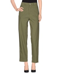 Golden Goose Casual Pants Military Green