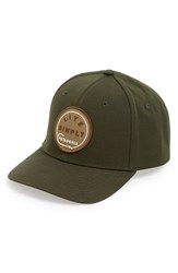 Men's Patagonia 'Live Simply Roger That' Baseball Cap Green Kelp Forest