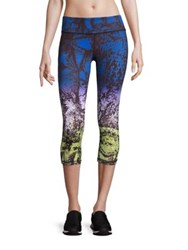 Vimmia Abstract Printed Cropped Leggings Mamba