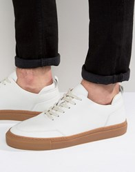 Zign Leather Trainers White