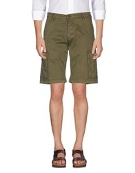 Beverly Hills Polo Club Trousers Bermuda Shorts Military Green