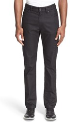 Men's Armani Collezioni Pipe Trim Straight Leg Jeans