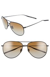 Men's Salt 'Francisco' 59Mm Polarized Sunglasses Black Sand Brown