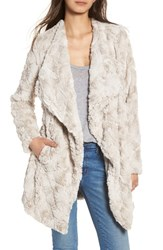 Bb Dakota Women's Tucker Wubby Faux Fur Coat Sheep