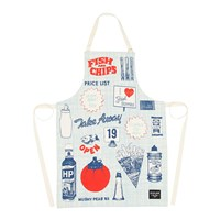 Gillian Kyle Fish And Chips Apron