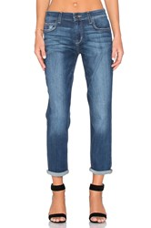 Joe's Jeans The Billie Ankle Medium Light Blue Distressed