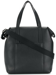 Maison Martin Margiela Sailor Tote Leather Black