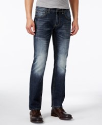Inc International Concepts Men's Hunnam Slim Fit Straight Leg Jeans Only At Macy's Dark Wash
