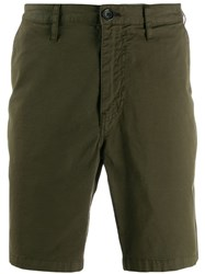 Paul Smith Ps Plain Chino Shorts Green