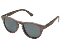 Shwood Francis Wood Sunglasses Polarized Walnut Grey Polarized Polarized Sport Sunglasses Black