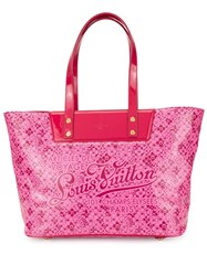 Louis Vuitton Vintage Cosmic Pm Tote Bag Pink