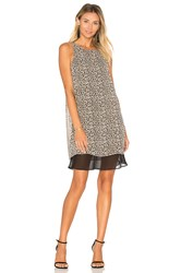 Bcbgeneration Layered Mini Dress Beige