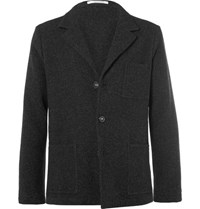 Massimo Alba Yak Unstructured Blazer Charcoal