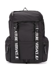 Versace Jeans Couture Logo Strap Backpack 60