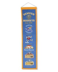 Winning Streak Denver Nuggets Heritage Banner Team Color