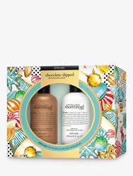 Philosophy Chocolate Dipped Shortbread Cookie Bodycare Gift Set