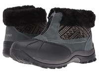 Propet Blizzard Ankle Zip Ii Black Aztec Knit Women's Cold Weather Boots