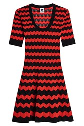 M Missoni Flared Dress With Cotton