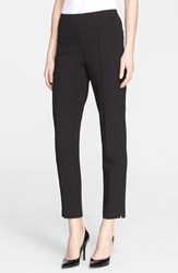 St. John Women's Collection Ponte Knit Ankle Pants
