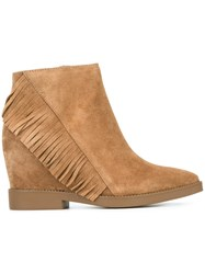 Ash 'Gossip' Booties Nude And Neutrals
