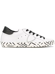 Philippe Model Classic Africa Sneakers White