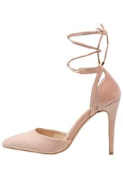 Dorothy Perkins Wally High Heels Peach Rose